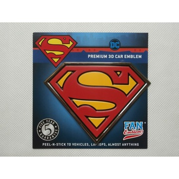 Naklejka Superman 3D Premium Exclusive USA