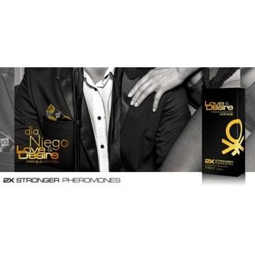 Love&Desire Premium Gold MEN - ostatnia sztuka!