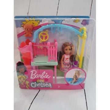 Barbie Club Chelsea Plac Zabaw Z Huśtawką FXG84