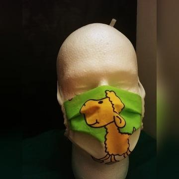 Maska bawelniana street wear maseczka dziecieca