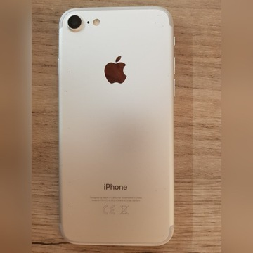 iPhone 7 32GB srebrny, stan bardzo dobry.