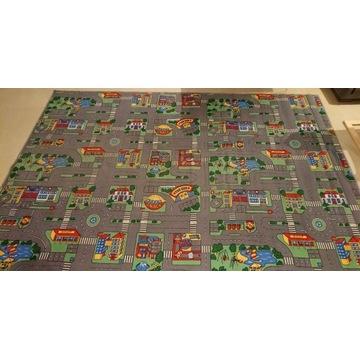 Wykładzina dywan miasto pokój dziecięcy 240 x 350