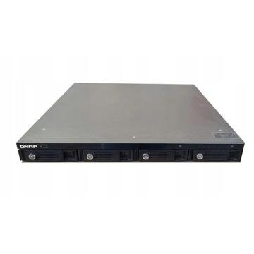 NAS QNAP TS-410U 4x500GB,1xPSU+4x500 GRATIS