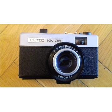 aparat fotograficzny analogowy Certo KN 35 etui
