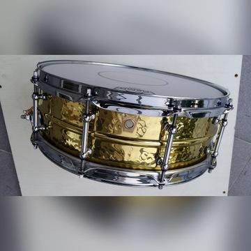 Werbel Ludwig 14x5 H. Hammered Brass Supraphonic
