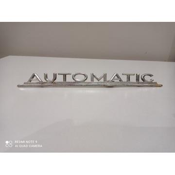 Znaczek mercedes Automatic