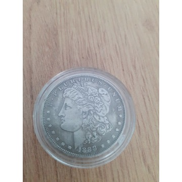 Moneta srebrna Morgan