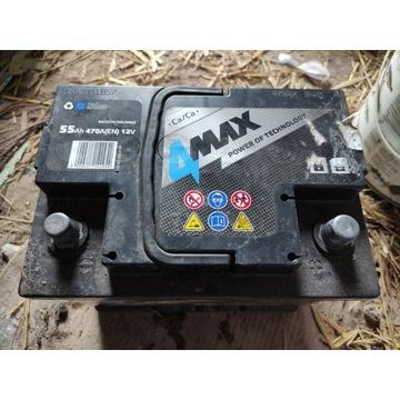 akumulator 4max 55ah 470A