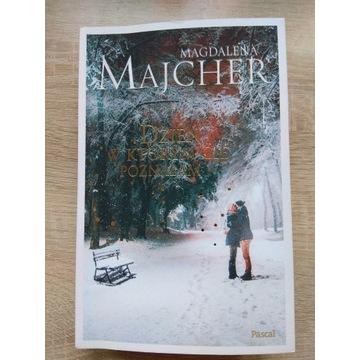 """Książka """"Dzień, w którym Cię poznałam"""" M. Majcher"""