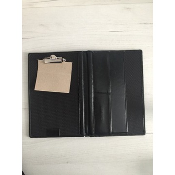 Czarny Organizer Teczka Dokumenty