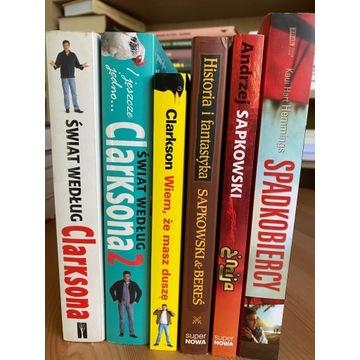 Andrzej Sapkowski, Jeremy Clarkson - pakiet