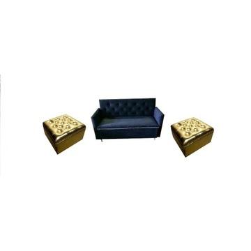 Sofa, sofka, poczekalnia zestaw.