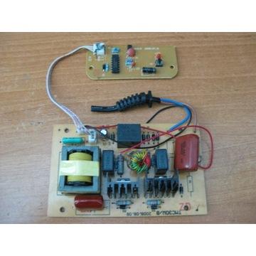 Elektronika sterująca wanny ultradźwiękowej.