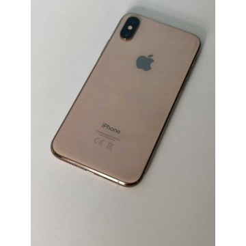 IPhone XS 64gb gold jak nowy DYSTRYBUCJA PL