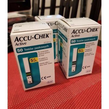 ACCU-CHEK paski testowe do pomiaru cukru