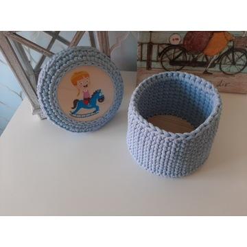 Pudełko ze sznurka bawełnianego