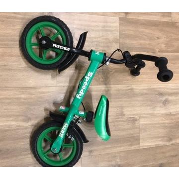 rower biegowy dla dzieci zielony