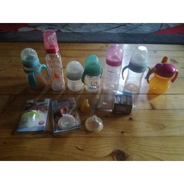 Butelki dla dziecka + GRATIS smoczek