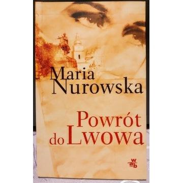 Maria Nurowska Powrót do Lwowa