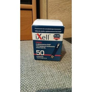 Paski do glukometru IXELL 50 sztuk.