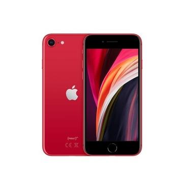 Apple iPhone SE(2020) 128 GB czerwony RED Zestaw +