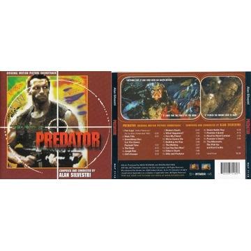 Alan Silvestri: Predator (CD, 1987/2012 Intrada)