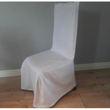 Pokrowce na krzesła  - białe