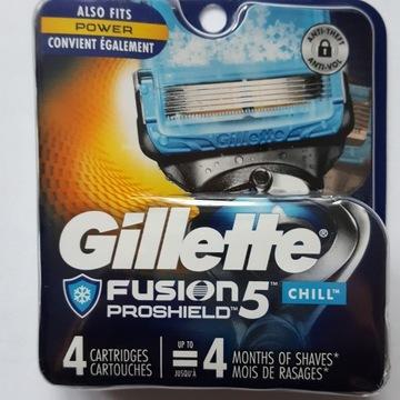 Gillette Fusion PROSHIELD CHILL 4szt ostrza