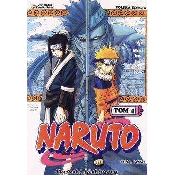 Naruto Manga Tom 4 Nowy