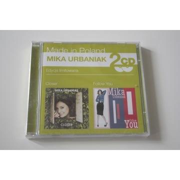 MIKA URBANIAK - 2 CD- CLOSER / FOLLOW YOU