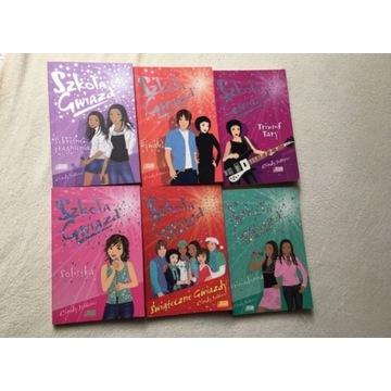 Szkoła gwiazd seria 10 książek Cindy Jefferies