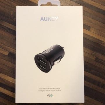 Najmniejsza ładowarka AUKEY CC-S1 2x USB 4.8A 24W