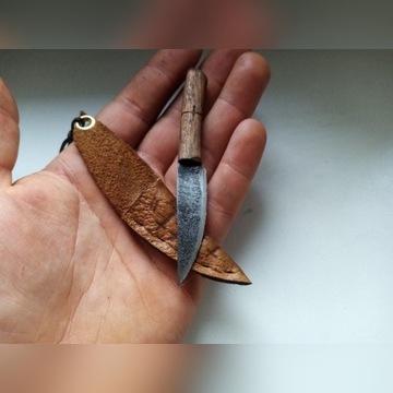 Ręcznie robiony nóż Custom Neck Knife Naszyjnik