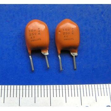 kondensatory tantalowe 10uF/25V