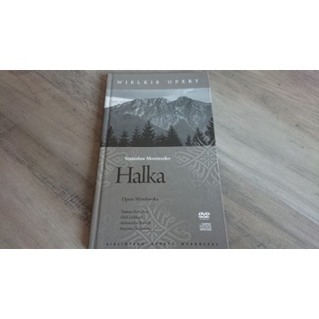 Halka Stanisław Moniuszko, DVD CD Książka