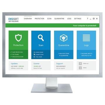 Emsisoft Anti-Malware PL  1PC/1ROK