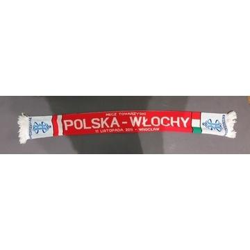 Szalik łączony Polska Włochy