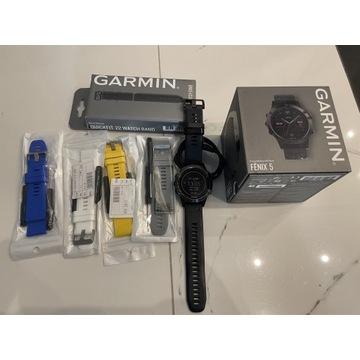 Smartwatch Garmin Fenix 5 czarny