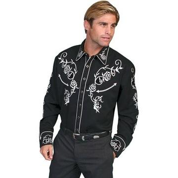 Koszula western Scully kowboj vintage XL