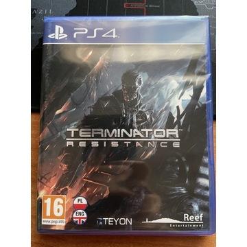 TERMINATOR RESISTANCE PS4/PS5 Polska Wersja FOLIA