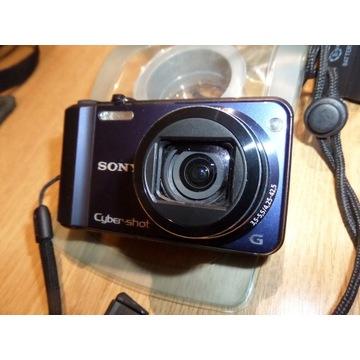 Aparat cyfrowy Sony DSC H70 +wodoodporne etui+etui