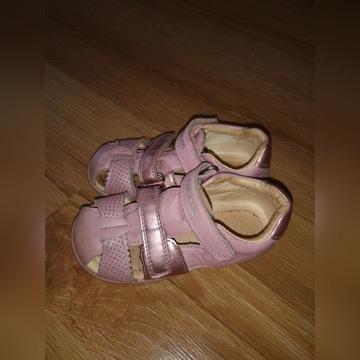 Geox sandałki 24 różowe