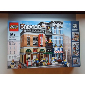LEGO CREATOR EXPERT 10246 Biuro Detektywa NOWY