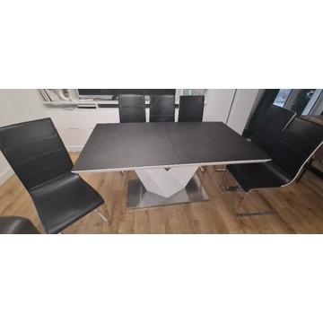 Stół Alaras II + 6szt krzeseł Baster