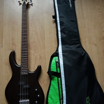 Gitara basowa Cort Action PJ + futerał