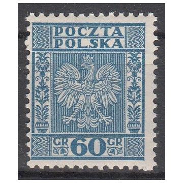 257** niebieski, Zn.W.II.P , gw.+opis J. Walocha