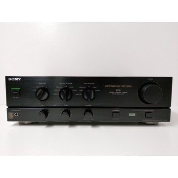 Wzmacniacz mocy Sony TA-F210 świetny dźwięk !