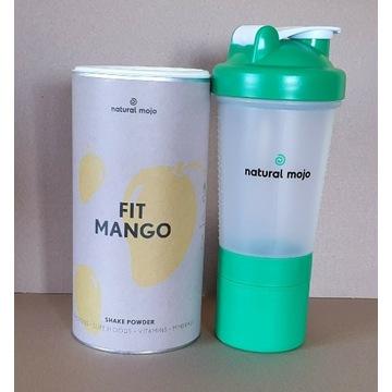 NATURAL MOJO SHAKE- Zestaw Fit Mango + shaker
