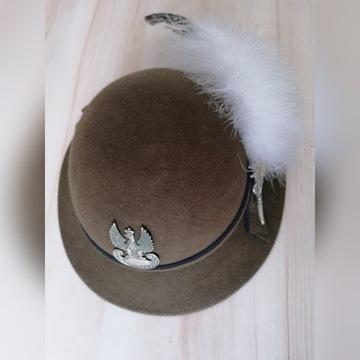 Peleryna + kapelusz podhalański