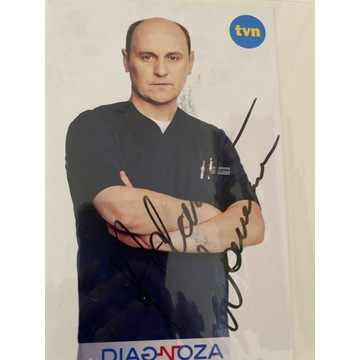 Oryginalny autograf Adam Woronowicz